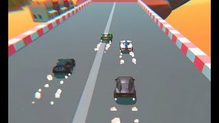 Cartoon Mini Racing Game Level 7-10 | Car Racing Games