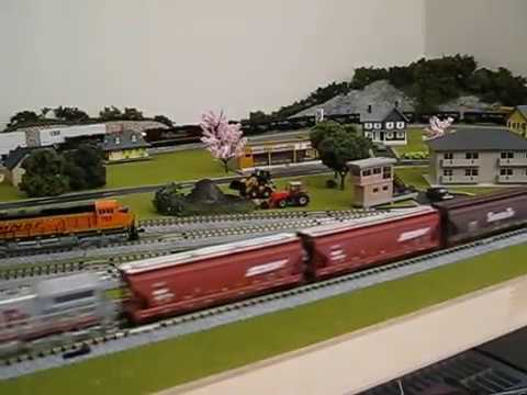 Kato N Scale Layout And Trains