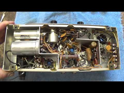 Bell & Howell Filmosound 385 Amp Conversion for Guitar Use, Part 1