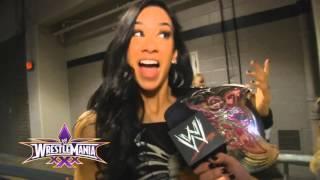 Wrestlemania XXX Winners - AJ Lee - WWE.Com Exclusive April 6, 2014