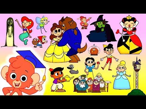 Fairy Tale ABC | Learn the Alphabet | ABCD Learning Cartoon Videos for Kids
