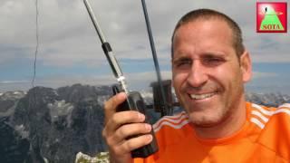 SOTA - Amateurfunk am Hirscheck (2.068m)