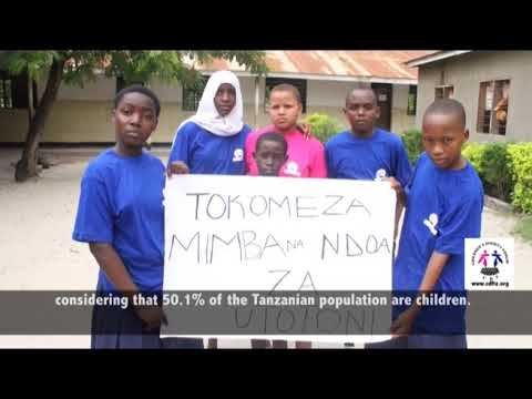 'HAKI YA BINTI'' project, mobilizing action to safeguard rights of girls in Tanzania