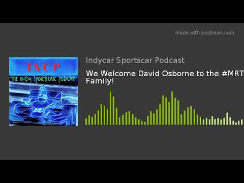 We Welcome David Osborne to the #MRTI Family!