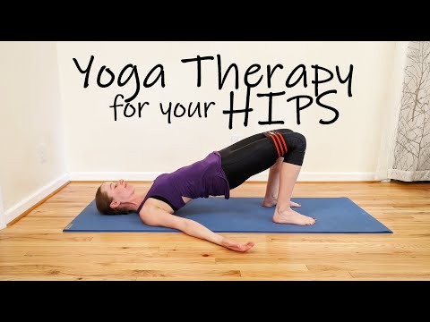Yoga Therapy for Your Hips
