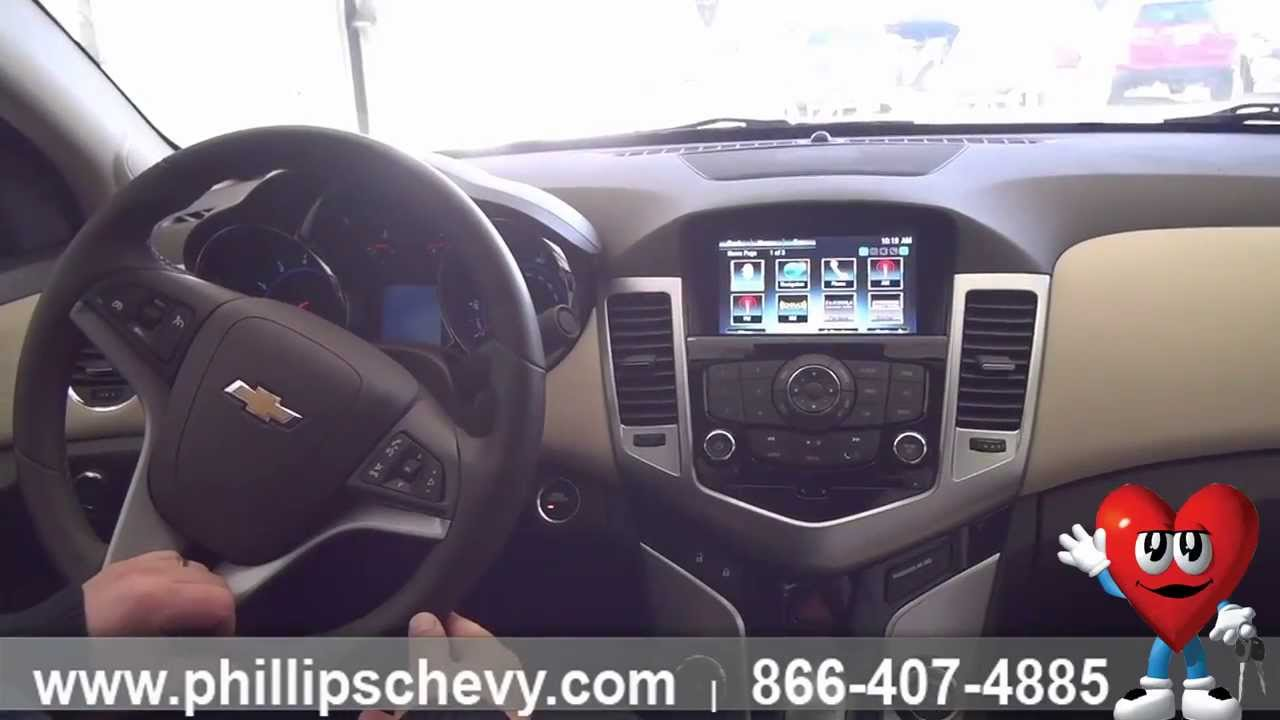 Cruze 2013 chevy cruze ltz for sale : Phillips Chevrolet - 2014 Chevy Cruze LTZ - Voice Navigation ...