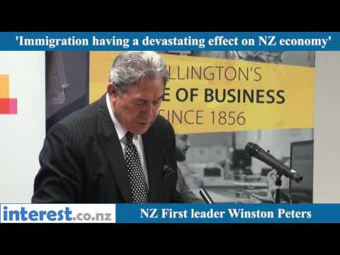 Winston Peters hits back at criticisms of NZ First's