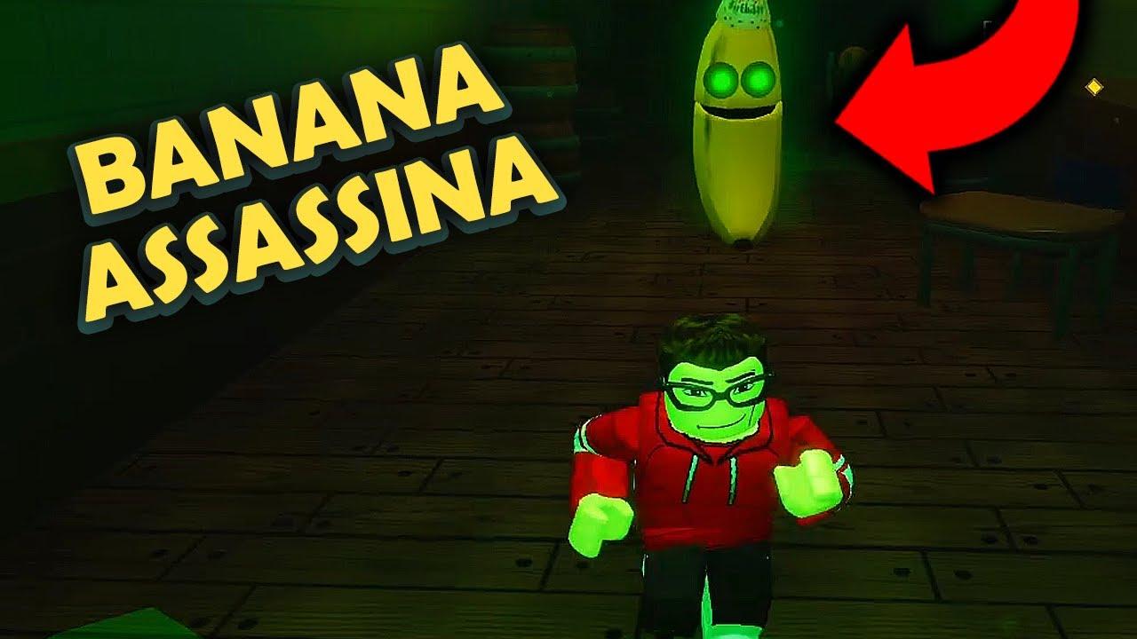 FUJA da BANANA ASSASSINA - Roblox Banana Eats