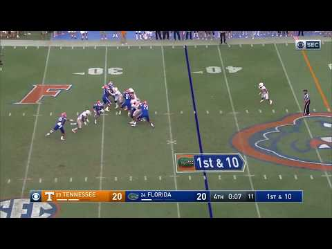 Florida's Hail Mary vs. Tennessee