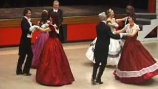 Quadrille Club dancing the Beseda Quadrille