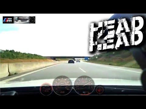 BMW M135i Vs Audi S3 8V +100-255 Autobahn DriveDeck RaceRender