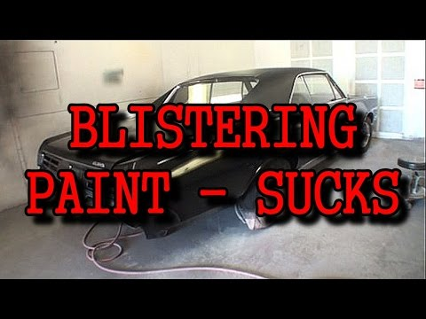How To Prime Your Car So You Don't Get Blistering Paint!