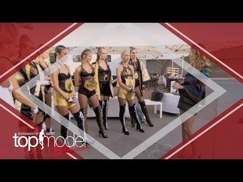 Die Mädchen müssen in den Ring mit Wrestlern | Germany's next Topmodel 2017 | ProSieben