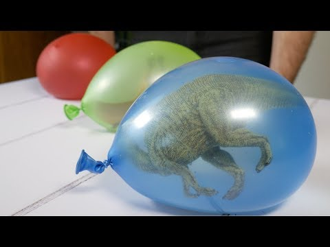 How To Make Dinosaur Ice Eggs