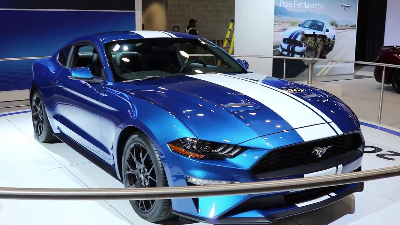 Sneak Peek 2018 Ford Mustang At Vancouver International