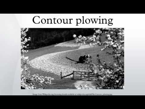 Contour plowing - YouTube