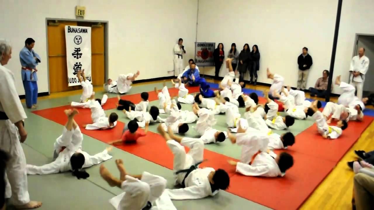 Bunasawakai Judo: Ukemi (breakfall)