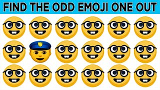 Find The Odd Emoji One Out New EP 01  Spot The Odd Emoji Out   Find The Difference, Puzzles Videos