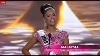 Miss Universe 2014 Presentation Contestants Preliminary Competition