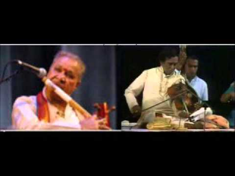 Lalgudi Shri Jayaraman & Pt Hariparasad ChaurasiaViolin Bansuri Jugalbandi Hamsadhwani & Bhajan