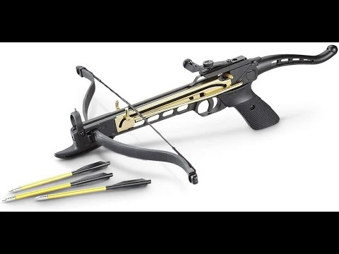 🏹 Cobra Self Cocking Pistol CrossBow WOW #Hunting #Defense #SurvivalGearReview
