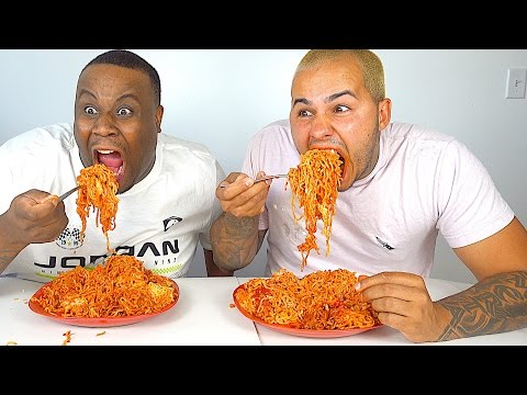 SPICY FIRE NOODLE CHALLENGE!!! EXTREMELY SPICY 🔥