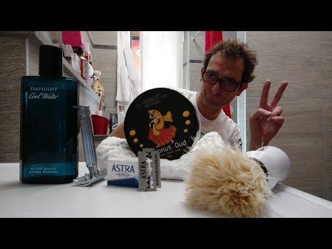 Fatip Classic - Astra Blue - Phoenix Coconut Oud - Extrò Setola - Davidoff Cool Water AS