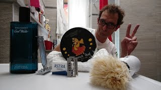 Fatip Classic - Astra Blue - Phoenix Coconut Oud - Extrò Setola - Davidoff Cool Water AS thumbnail