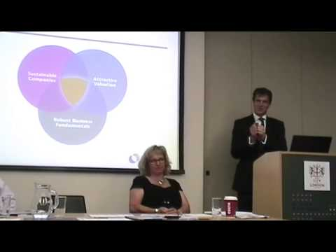 Alliance Trust Sustainable Future funds presentation to financial advisers