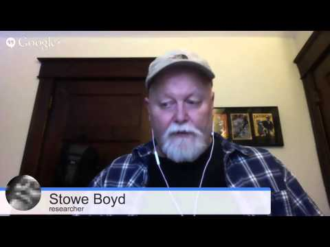 Digital Strategy Conference Vancouver 2014 - Stowe Boyd Interview