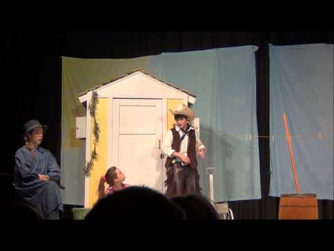 OKLAHOMA Jr.  Curly Sings - The Surrey with the Fringe on Top (Full HD)  LSMO Middle School