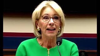 Betsy DeVos Has No Idea What's Going On, But She Can Talk Until Your Time Runs Out