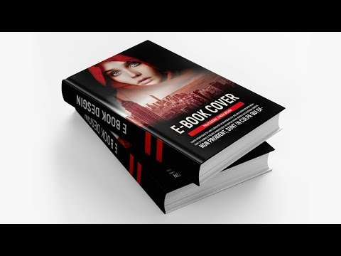 How To Design A Book Cover - Photoshop Tutorial