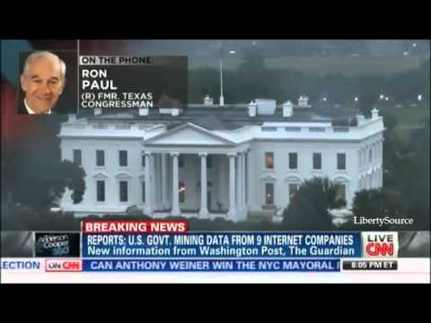 CNN: Ron Paul on NSA Spying: Government Can't Make Us Safe