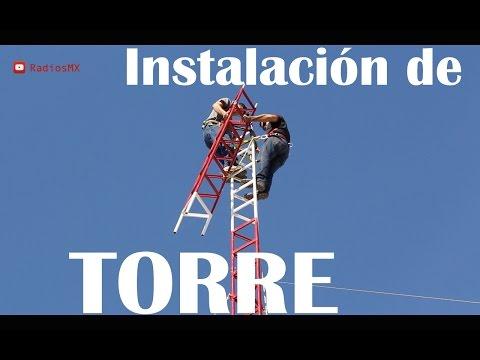 Instalación de Torre para Radioaficionados