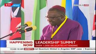 The 6th annual global peace conference underway in Kampala Uganda