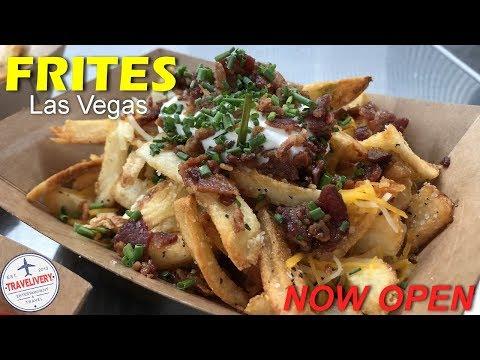 Frites Las Vegas Is Now Open At Excalibur Hotel & Casino