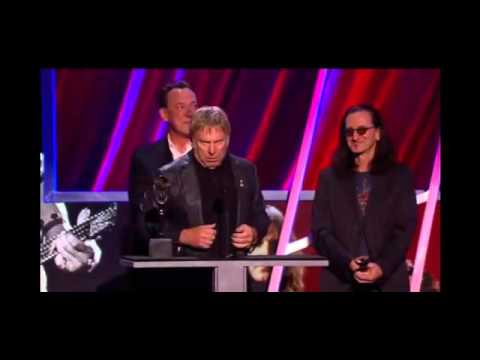 BlahBlah Rush Acceptance Speech Rock Roll Hall of Fame 2013 Funny & Unique