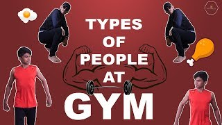 TYPES OF PEOPLE AT GYM | VIRALS IN PUNE