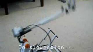 Nxt Catapult Throws Ball Four Metres