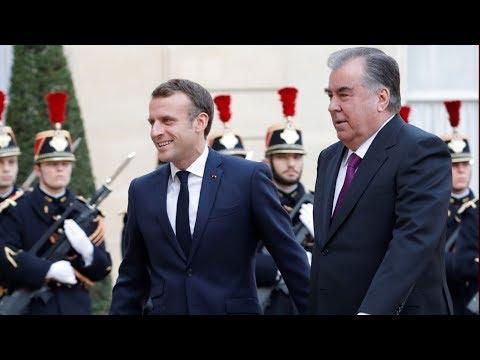 Рахмон с официальным визитом во Франции