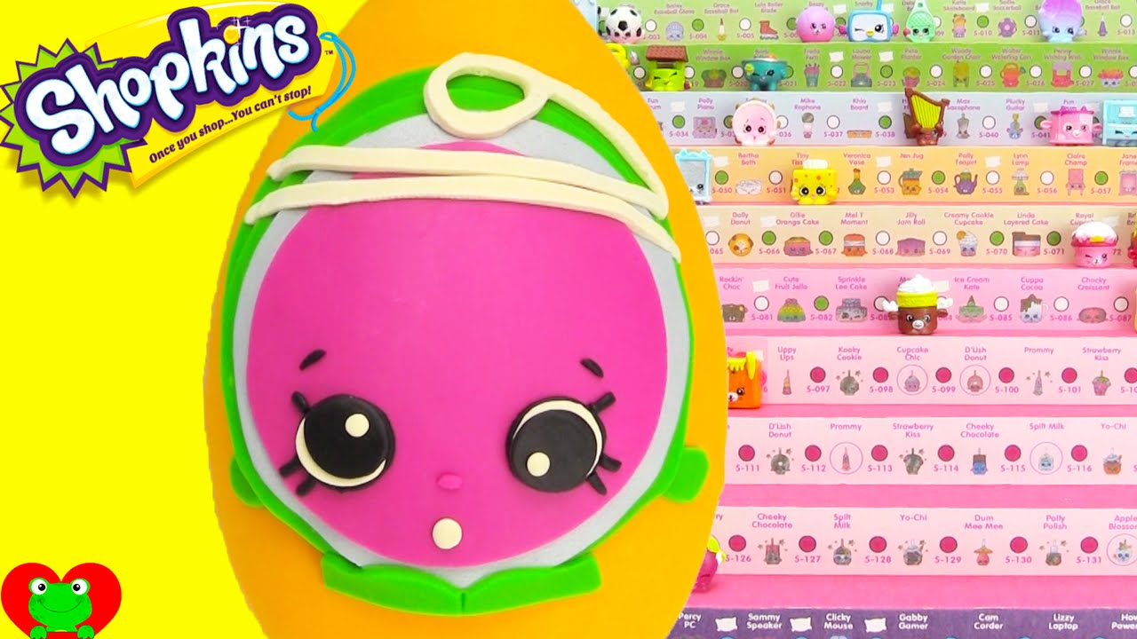 Shopkins Season 5 Yolanda YoYo Play Doh Surprise Egg And Limited Edition Hunt