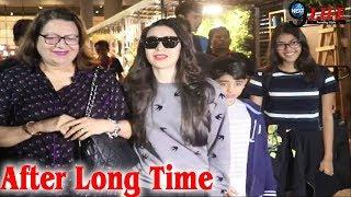 Karishma Kapoor Spotted With Her Children |