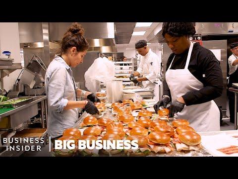 How 215,000 Meals Are Made For Super Bowl LIV