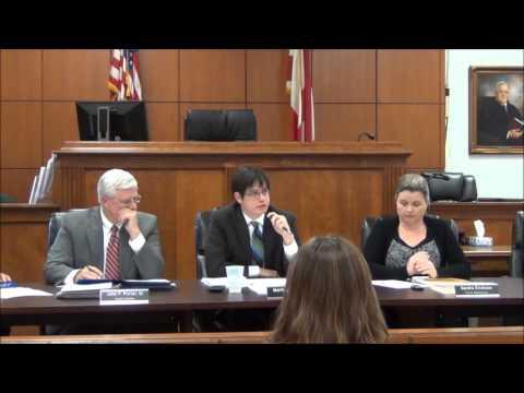 Mar. 11, 2013 - Jackson County Commission, Scottsboro, Al.
