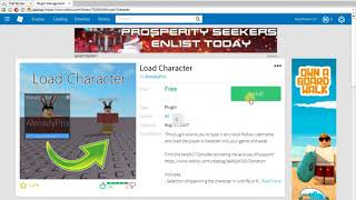 ROBLOX TUTORIAL: How to load character in less than 10 seconds.