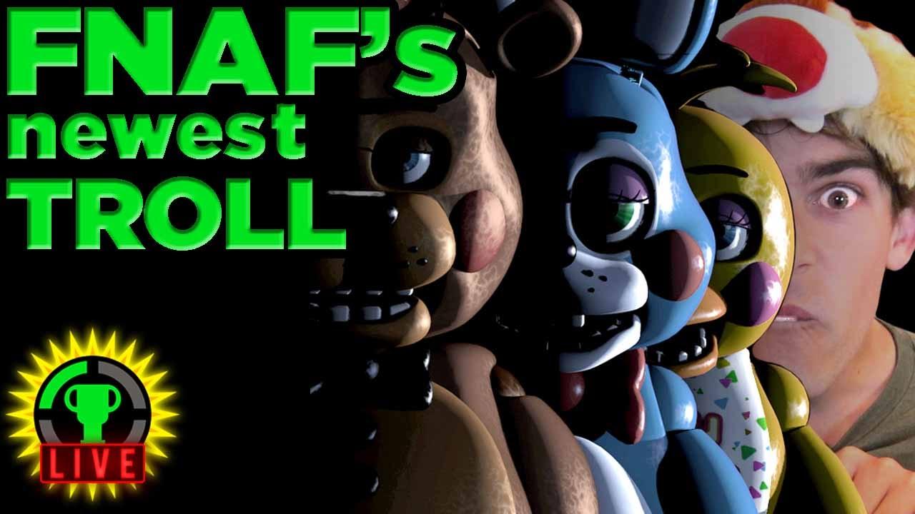 GT Live: FNAF's Newest Evil is MatPat! - GT Live: FNAF's Newest Evil is MatPat!