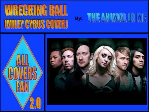 Клип The Animal In Me - Wrecking Ball (Miley Cyrus Cover)