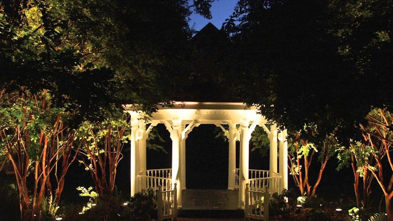 columbus landscape lighting creates amazing backyards youtube