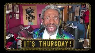 André De Shields tells Jimmy Kimmel It's Thursday!